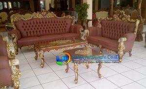 Sofa Tamu Klasik Terbaru Koja