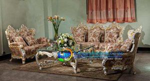 Sofa Tamu Klasik Boroque Banjar