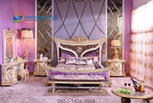 Set Tempat Tidur Klasik Timika Series Terbaru Mewah IJF-0194